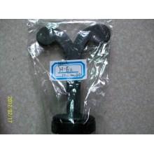 Черный PU MDF серьги Дерево формы серьги ювелирные изделия дисплей (H-E2)