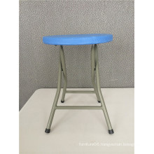 Portable Round Stool for Outdoor Use
