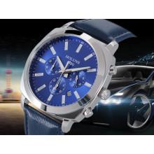 Multifunción Big Dial Relojes de Negocios Luminous Digital