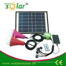 Einfach CE Heimgebrauch führte Solarbeleuchtung Kit; solar Licht-home-System mit 2 lamps(JR-SL988B)
