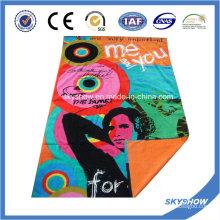 Пляжное полотенце с печатью на заказ (SST1053)