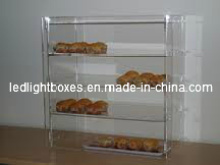 Customized Size Desktop Acrylic Food Display Case (LZ-AF)