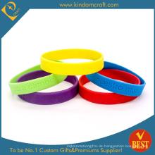 Heißer Verkauf Mode Silikon Armband & Armband