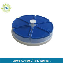 plastic rotatable candy tray