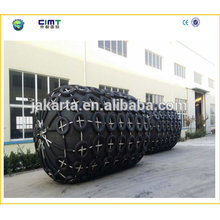 Tug boat marine rubber fender with Tyre made