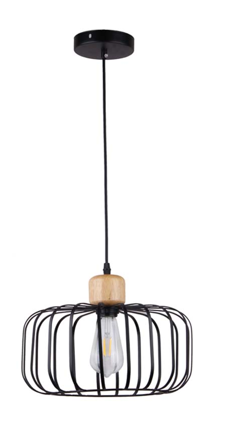 Black Energy Saving Chandelier