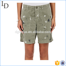 Hand-painted special slim carrgo shorts outdoor swear shorts for women