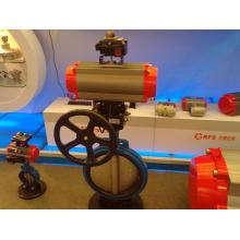 Actuadores neumáticos con DIN337. Estándar Vd / VDE3845 y Namur