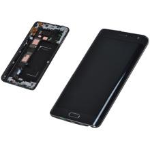 Alta calidad móvil / teléfono celular LCD para Samsung nota borde N9150 / f / v con pantalla táctil con marco