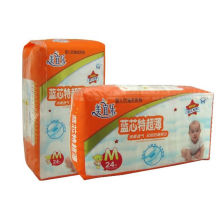 Baby Diaper with Absorbant Layer and PE Tape Special-Grade Thin (A368)