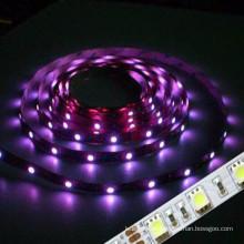 Hochwertige CE & ROHS Zertifizierung wasserdicht IP68 3528 smd rgb Flexible LED Streifen 50m