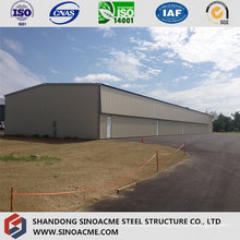 Steel Light Movable Structure for Small Hangar