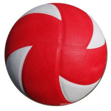 White Color Laminated PVC Volleyball