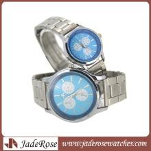 Einfache Mode-Paar-Uhr-Geschäfts-Legierungs-Uhr