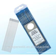 Electrodo de tungsteno de alta calidad WC20 para soldador TIG