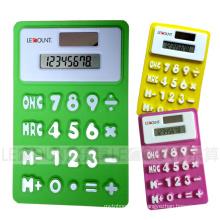 Calculadora de silicio plegable flexible LC518