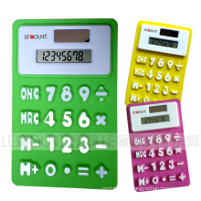 Flexible Foldable Silicon Calculator LC518