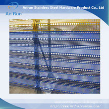 Perforated Metal Sheet for Wind-Stop with Three Peaks