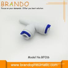 Enchufe de espiga de plástico POM Tee adaptador