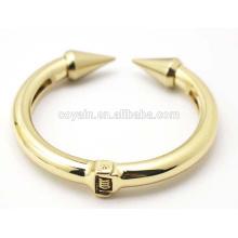 Gold Schwere Schmuck Armband Legierung Anker Stulpe Armband