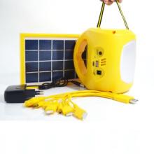 6V D08d Green Energy Solar Camping Licht