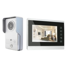 Touch Button Wired Villa Door Video Phone
