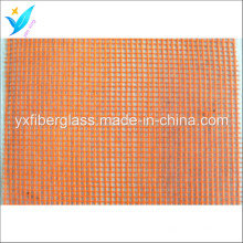 5mm * 5mm 80G / M2 Orange Fiberglass Net