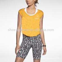 2014 comfortable super-soft cropped womens T-shirt