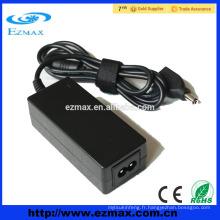 Dongguan Single Adaptateur universel pour ordinateur portable alimentateur de commutation chargeur portable 60W 65W 90W 120W pour ordinateur portable, CCTV, LED
