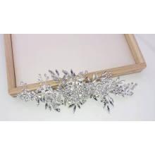 Accessoires de cheveux en cristal de mariage coiffe de cheveux de mariée accessoires faits à la main pince à cheveux