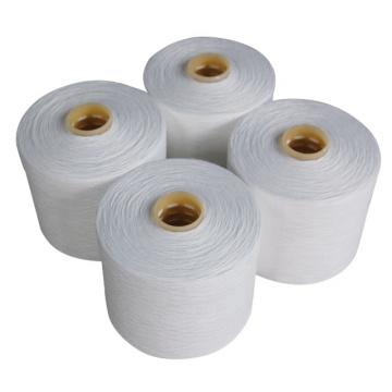 Threads Yarn China Supplier 100% Spun Polyester Yarn Raw White Threads Yarn