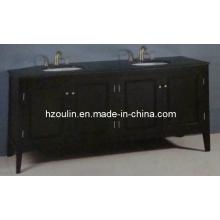 Tocador de baño de madera doble del fregadero (BA-1117)