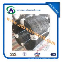 Fio de ferro preto de fio de aço carbono duro de alta qualidade desenhado