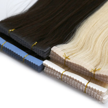 Factory Price Tape Hair Extensions Human Virgin Hair Extensions Remy Hair