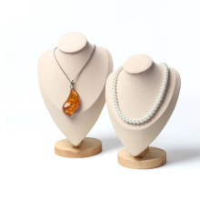 Custom Waterproof Durable Microfiber for Necklace Display