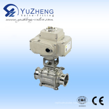Pneumatic Clamp Non-Retention 3PC Ball Valve