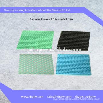 Herstellung von hochwertigem PP Filter Aktivkohle