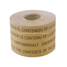 Cinta kraft impresa cinta de impresión personalizada