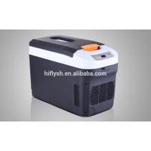 HF-22L(109) DC 12V/AC 220V 55W car refrigerartor car cooler cooling box mini portable car refrigerator(CE certificate)
