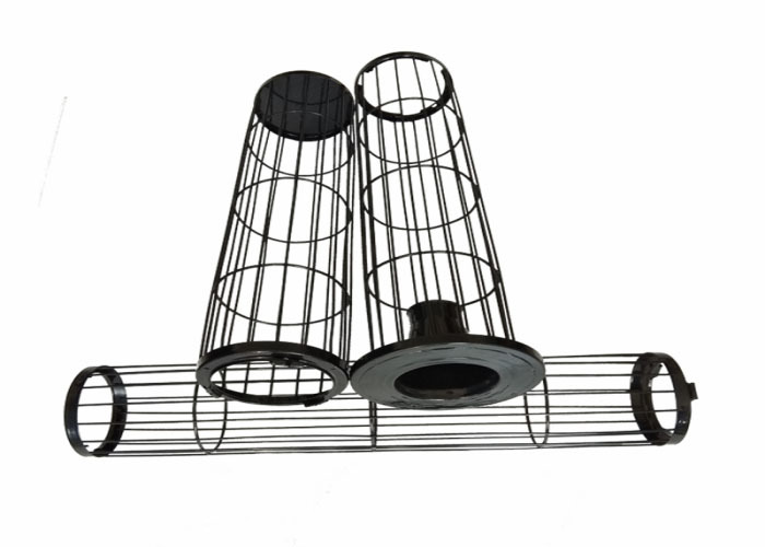 Stainless steel filter bag support cage