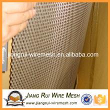 2016 China galvanizado / aço inoxidável expandido malha de metal