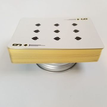 playing card exercise game