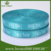High qulity cheap custom printed logo personalized ribbon