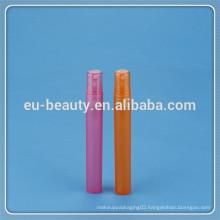 10ml Plastic Refillable Perfume Bottle Pump Atomizer