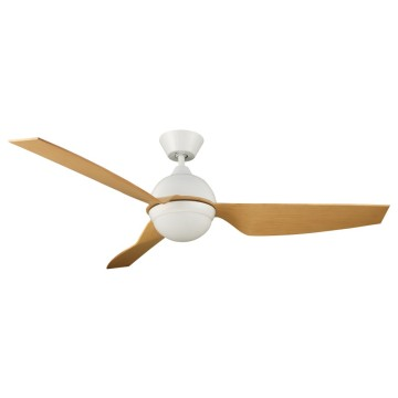 Contemporary Style 3 Solid Wood Blade Ceiling Fan