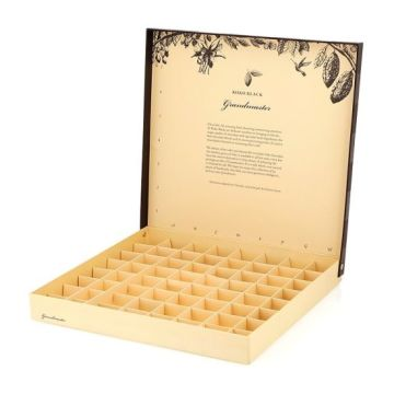 Chocolate Wedding Luxury Paper Gift Box Pembungkusan Kadbod