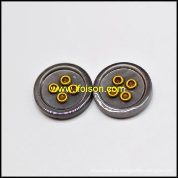 Esmalte Color río Shell botón con ojal