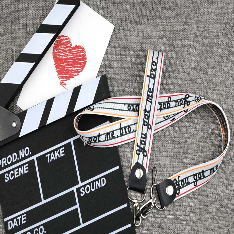High quality branded long lanyards for chest card