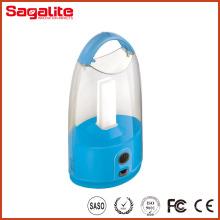 Lanterne de camping solaire à LED rechargeable à LED de style nouveau style