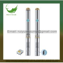 Bomba de agua sumergible de pozo profundo de alambre de cobre de alta calidad de 4 '' 1.1kw (4SD16-03 / 1.1kW)